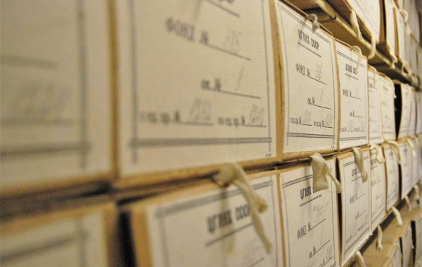 Подготовка документов к передаче на государственное хранение