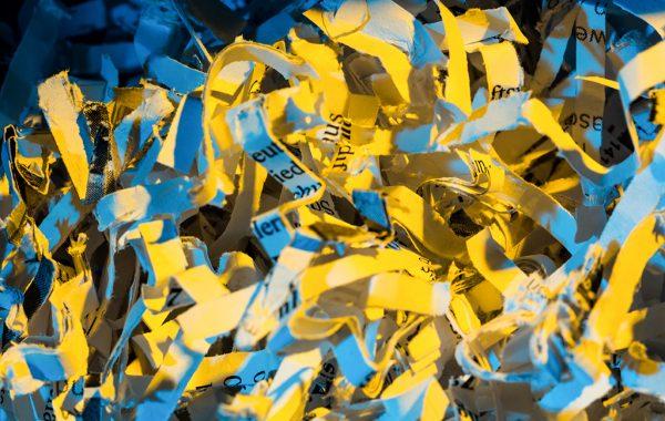 Уничтожение документов
