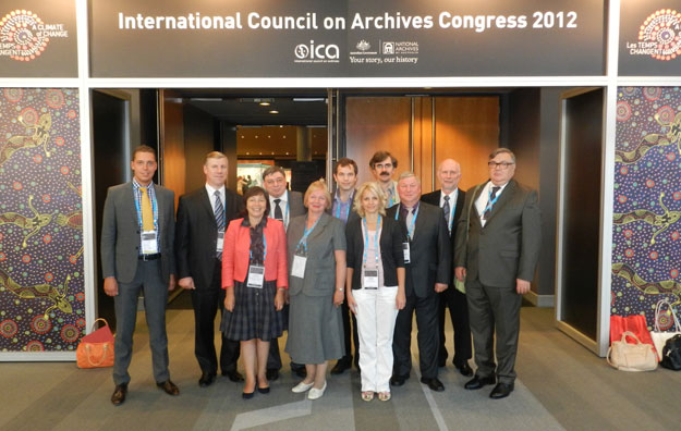 International congress on archives Brisbane, Australia