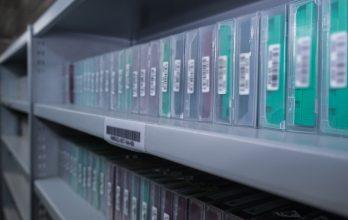 Хранение жестких дисков и магнитных лент