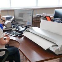 Сканирование широкоформатных документов