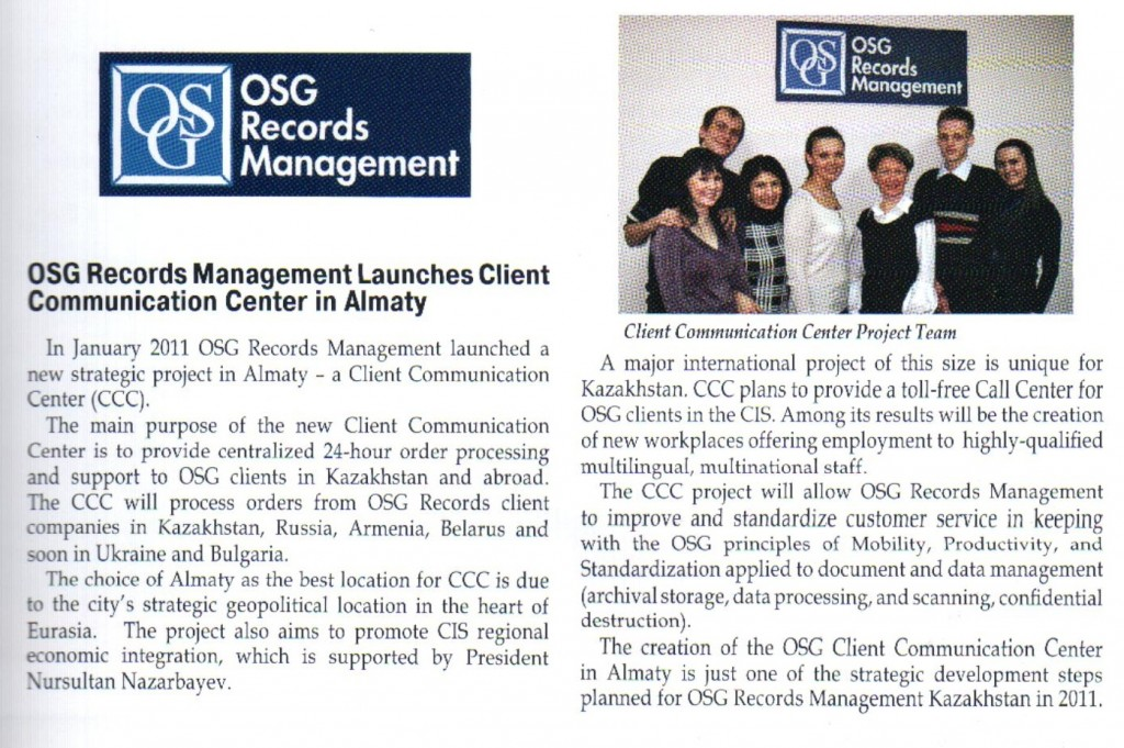 Investors' voice OSG article
