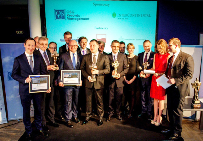 OSG Poland sponsors Financier of the year 2013