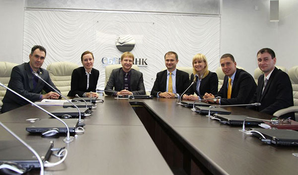 Zalina Kanametova: We are pleased to note Siberian Bank of Sberbank of Russia as our long standing partner and client