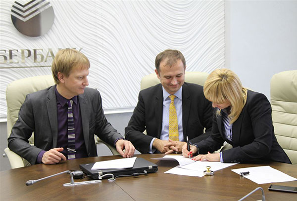 Sberbank signs a contract with OSG