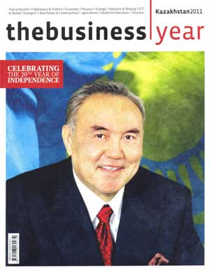 Business Year magazine Kazakhstan 2011